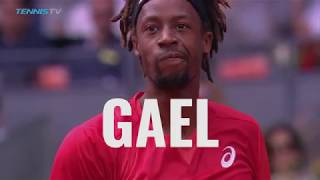ATP Tennis Players Describe Gael Monfils in ONE word!
