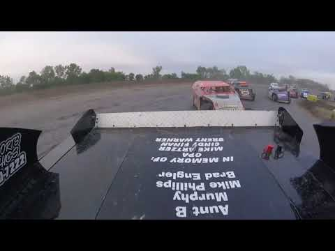 On board reverse 7 laps with 34S Sturgis Streeter at Salina Speedway 9-30-18