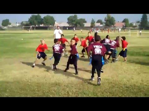 Coach Salas Football Highlights Bakersfield YMCA 7...