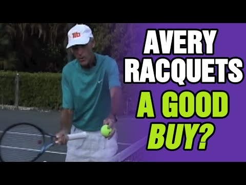 Tennis - Why Are AVERY Racquets A Good Buy? | Tom Avery Tennis 239.592.5920
