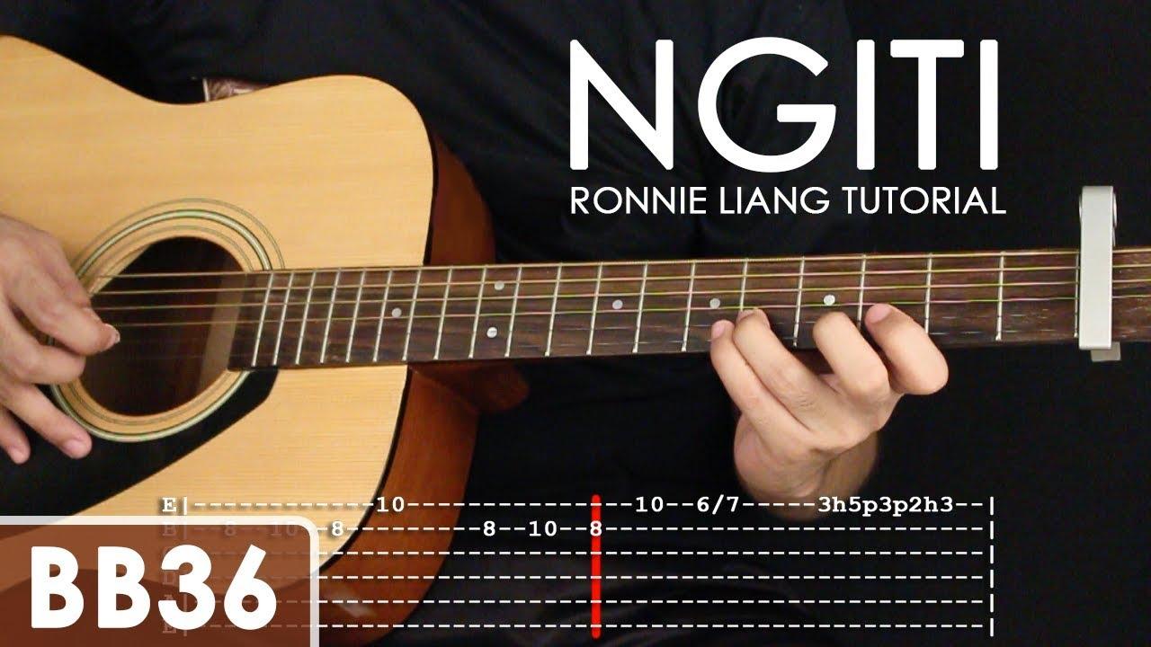 Ngiti Ronnie Liang Guitar Tutorial Youtube