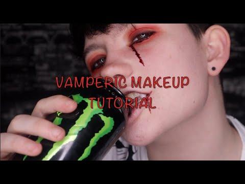 VampEric makeup tutorial thumbnail