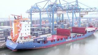 Rotterdam Container Port