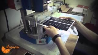 видео изготовление пластиковых карт
