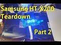 Samsung HT-X200 teardown - Part 2