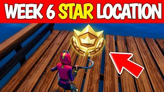 Fortnite Season 10 Week 6 Secret Battle Star Location - Season X Secret Star Location