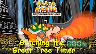 Paper Mario: TTYD - Glitching the Great Tree Timer - Glitch Experiment