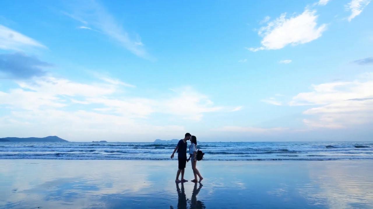 雙月灣。惠東。平海。 港口鎮。海龜。檀悅豪生度假酒店。旅遊介紹 - YouTube