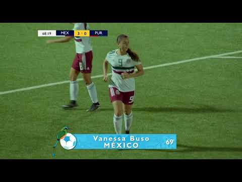 CU17W 2018: Mexico vs Puerto Rico Highlights