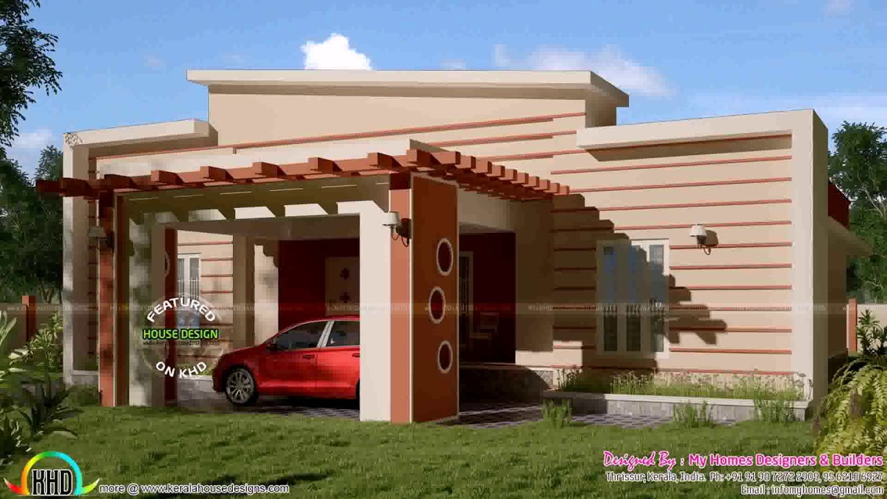 Village House Front Elevation Designs For Single Floor Youtube