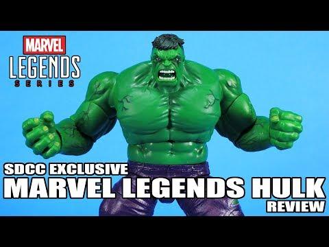 Marvel Legends Hulk SDCC 2019 Exclusive Figure Review