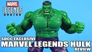Marvel Legends Hulk SDCC 2019 Exclusive Figure Review