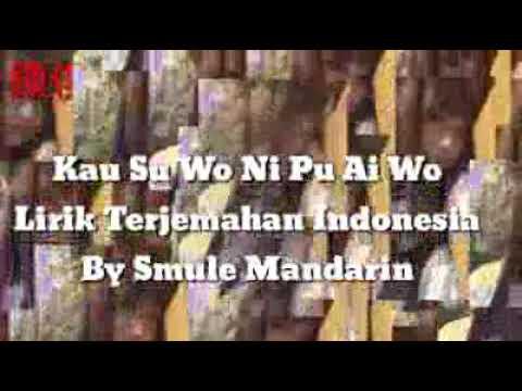 Kau Shu Wo Ni Pu Ai Wo (Lirik Terjemahan Indonesia )