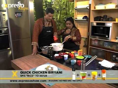 SA Tourism:  Quick Chicken Biryani (27.09.2012)