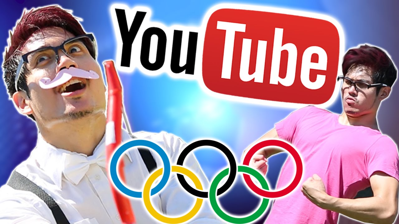 YouTube Olympics: MARKIPLIER vs WARFSTACHE Archery Affair   Judo Joke with NigaHiga