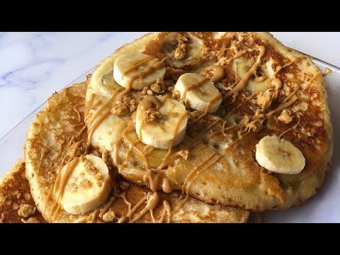 Easy Banana Nut Pancakes!!!
