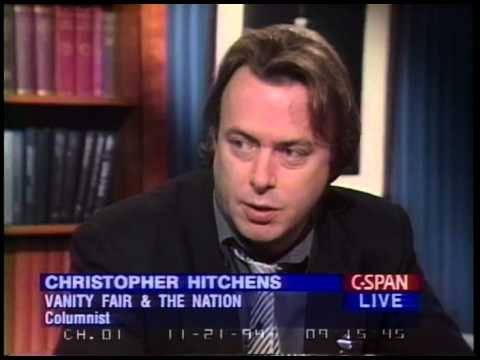 Christopher Hitchens   1994   Discussing events in the news with Mona Charen