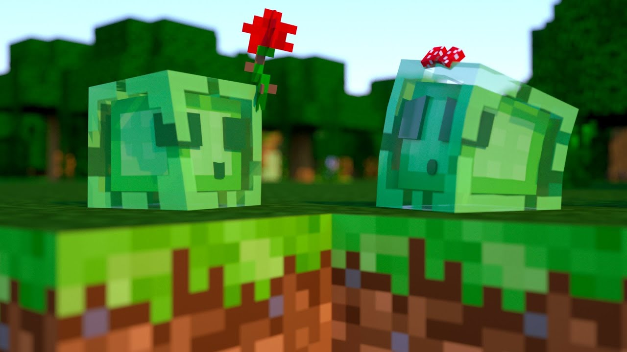 Make Cute Minecraft Wallpapers A Slime Story Minecraft Animation Youtube
