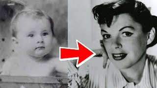 Judy Garland from 1 to 47 years old