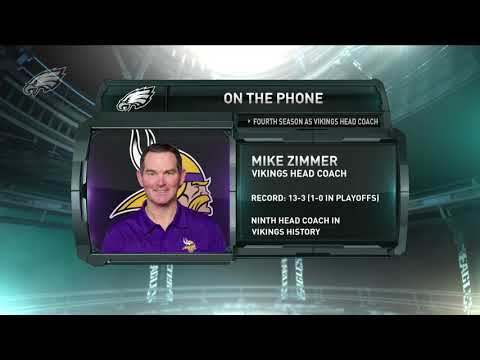 On The Phone: Vikings Head Coach Mike Zimmer