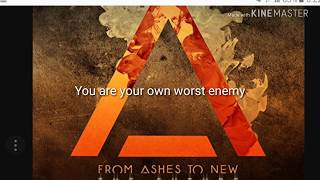 From Ashes To New Enemy Lyrics