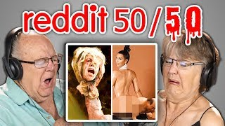 ELDERS REACT TO REDDIT 50/50 CHALLENGE