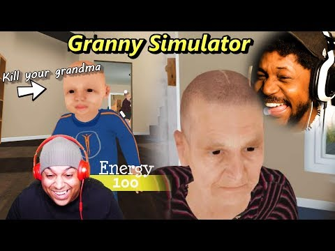 DYING OF LAUGHTER FROM THIS GAME   Granny Simulator (w/ Dashie)
