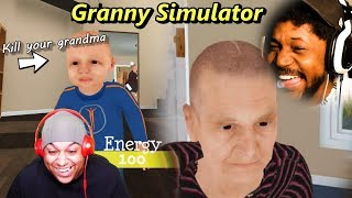 DYING OF LAUGHTER FROM THIS GAME | Gran...