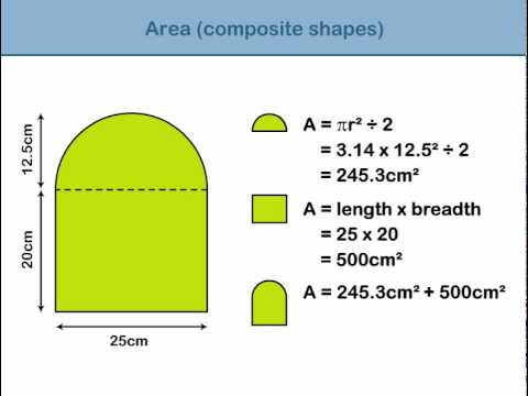 Area of composite shapes youtube ccuart Image collections