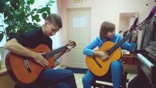 Танго на гитаре