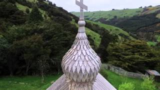 храм Покрова Пресвятой Богородицы(храм Покрова Пресвятой Богородицы в Le Bons Bay, New Zealand., 2015-10-10T06:40:16.000Z)