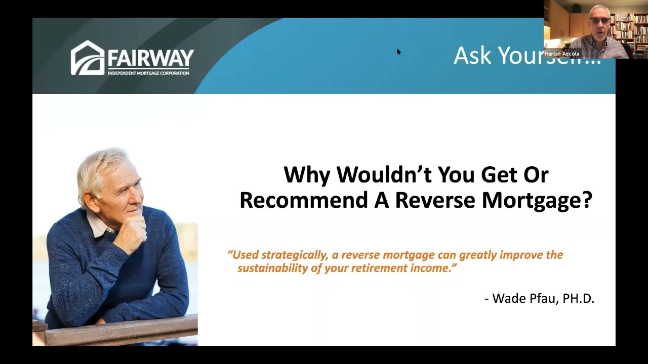 Live Event: Reverse Mortgages for Purchase