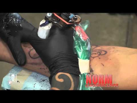 Tattoo Time Lapse - NORM AWR MSK
