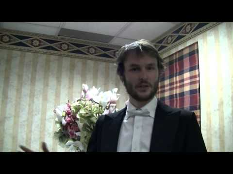 The interview with Johann Strauss Ball's conductor Michael Clark
