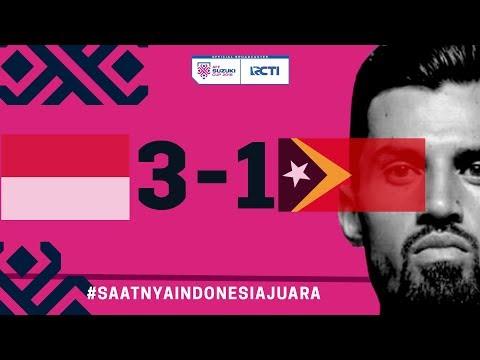 INDONESIA VS TIMOR LESTE (AFF) 3 - 1