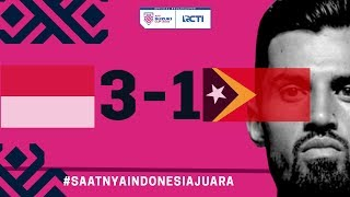 INDONESIA VS TIMOR LESTE (AFF) 3 - 1