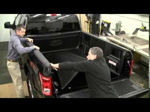 Bedliner For F150 >> Ford Drop In Bedliner Installation - 2015 F150 - YouTube