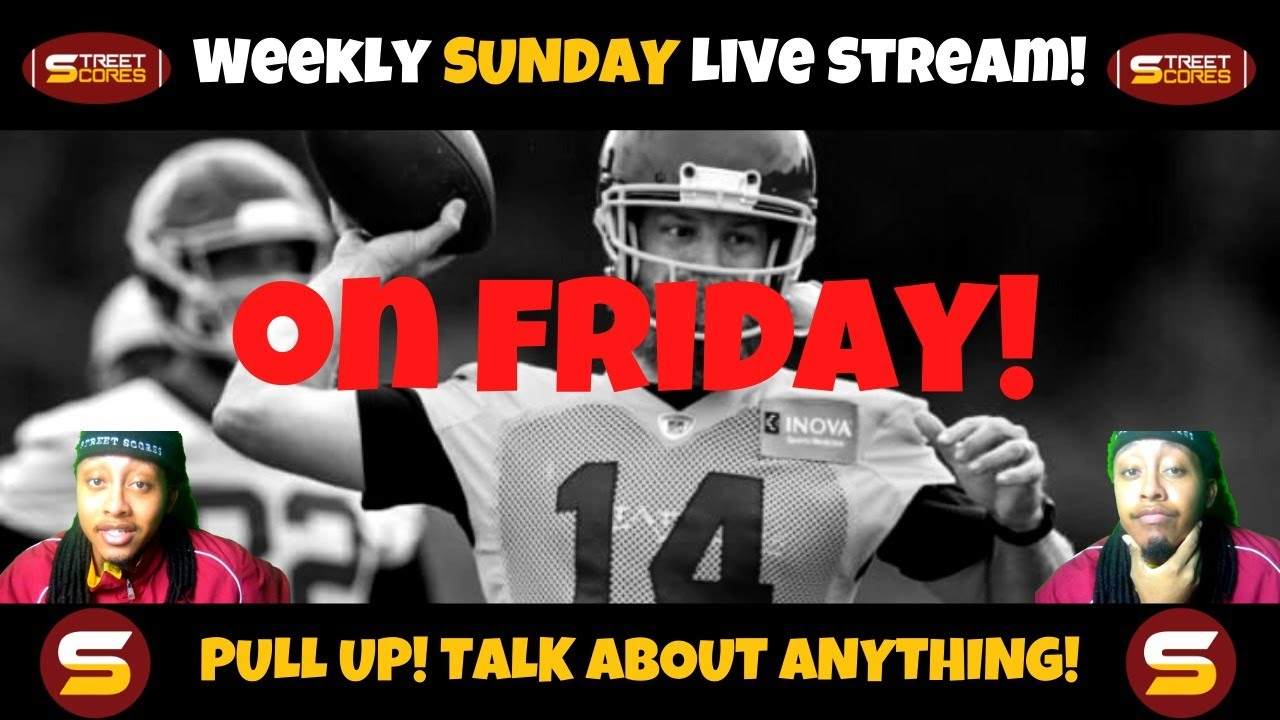 🏈2021 WFT Talk 1 Hour LIVE STREAM! Training Camp Preview! POSITION BATTLES!! Analysis! 🏈