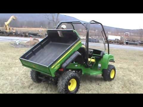 2007 john deere gator hpx 4x4 power dump bed water cooled. Black Bedroom Furniture Sets. Home Design Ideas