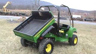 2007 John Deere Gator HPX 4X4 Power Dump Bed Water Cooled For Sale Mark Supply Co