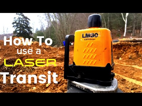How To Use Laser Transit