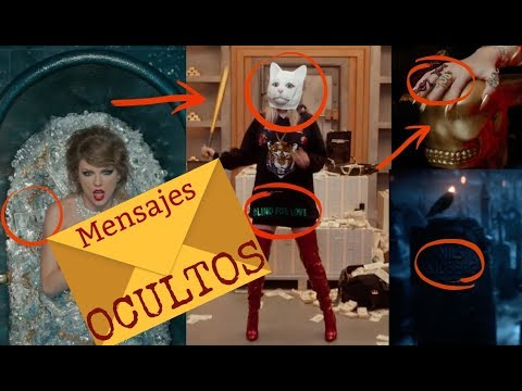 TAYLOR SWIFT Y TODOS LOS MENSAJES OCULTOS DE SU VIDEO LOOK WHAT YOU MADE ME DO  + SU EVOLUCIÓN