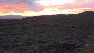 South mountain sunrise: A date with the morning sun. (Recorded by Sony PJ790)