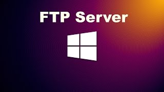 How to create an FTP Server