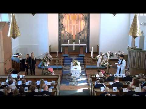 Freja Modin - Utan dina andetag (Linnea Tryggs begravning)