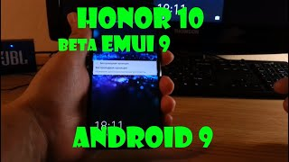 Honor 10 Android 9 (EMUI 9)