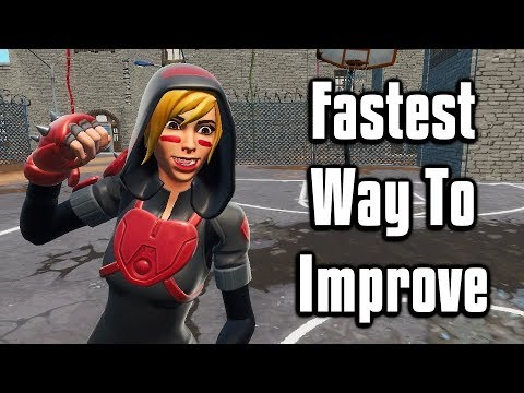 Guaranteed FASTEST Way To Improve At Fortnite! - My Ultimate Training Guide