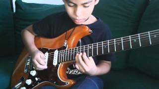 João Vitor Uchoa (10 anos) [Farewell Ballad (Zakk Wylde Cover)]