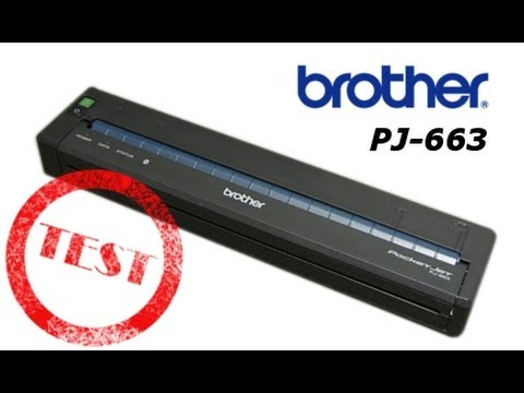 BROTHER PJ-663 DOWNLOAD DRIVER