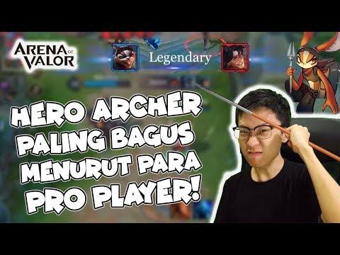 HERO ARCHER INI PALING BAGUS MENURUT PARA PRO PLAYER LUAR! SLIMZ GILE! - AOV Indonesia